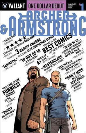 Archer & Armstrong (2012) 1-I