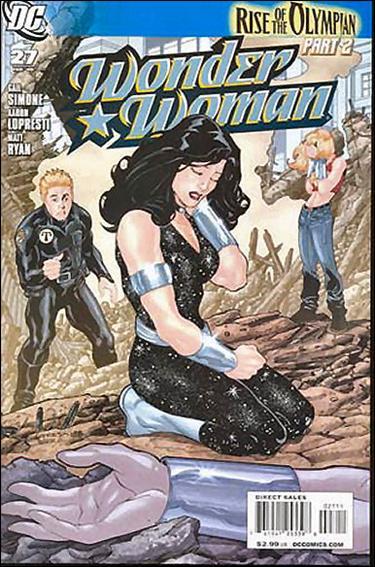 Wonder Woman (2006) 27-A by DC
