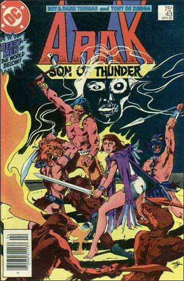 Arak Son of Thunder 43-A by DC