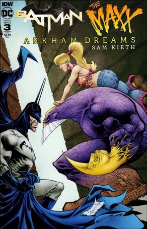 Batman/The Maxx: Arkham Dreams 3-A