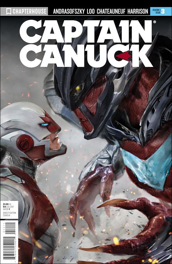 Captain Canuck Season 3 3-A by Chapterhouse Comics