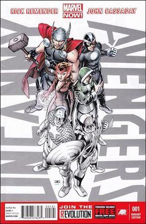 Uncanny Avengers (2012) 1-N