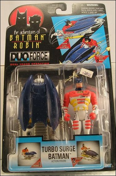 Adventures of Batman and Robin: Duo Force Batman (Turbo Surge) by Kenner