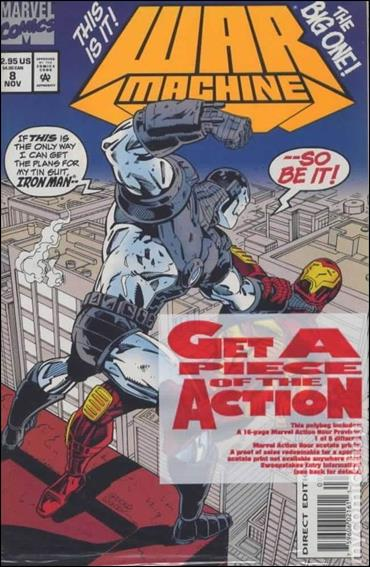War Machine (1994) 8-C by Marvel
