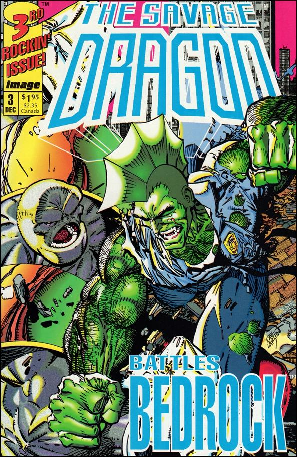 Savage Dragon (1992) 3-A by Image