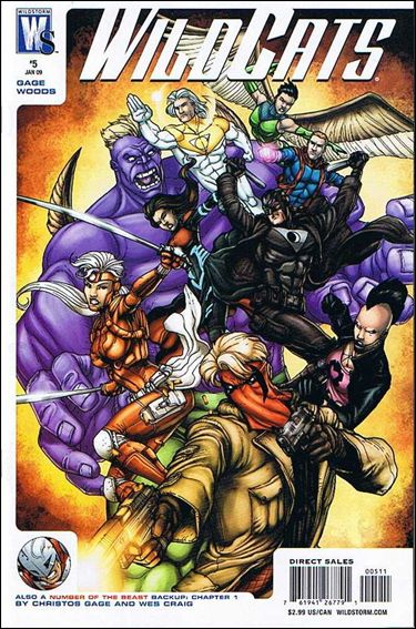 Wildcats (2008) 5-A by WildStorm