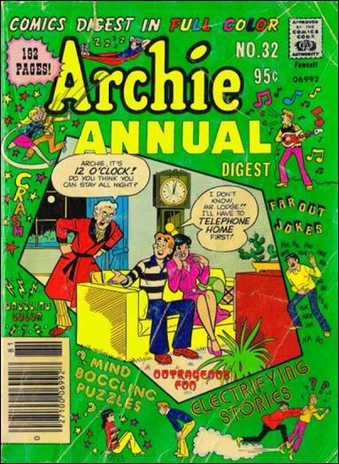 Archie Annual Digest Magazine 32-A by Archie