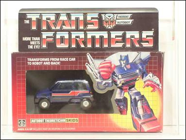 Transformers: More Than Meets the Eye (Generation 1) Skids (Autobot Theoretician) by Hasbro