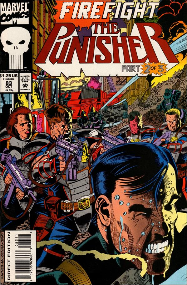Punisher (1987) 83-A by Marvel