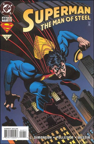 Superman: The Man of Steel 49-A by DC