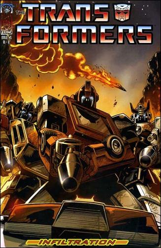 Transformers: Infiltration 5-F by IDW