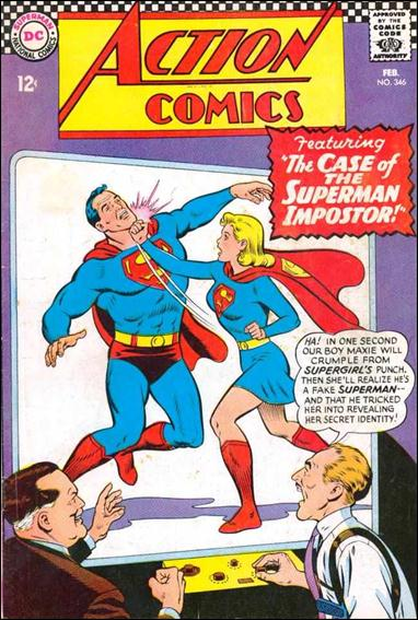 Action Comics (1938) 346-A by DC