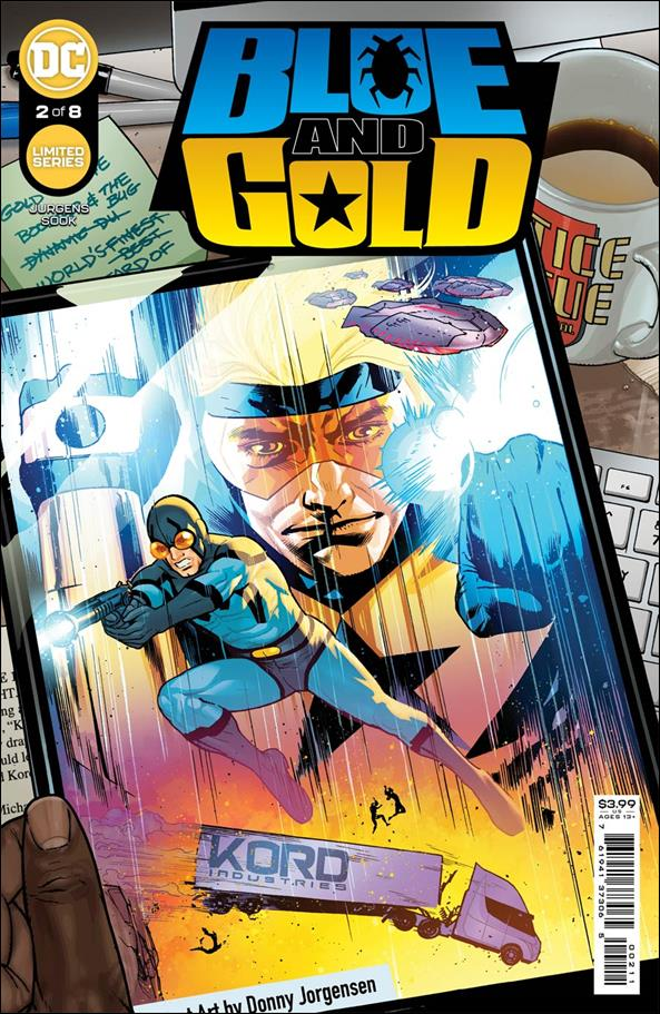 Blue and Gold 2-A by DC
