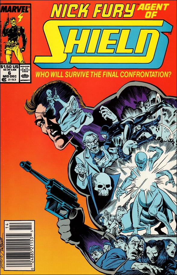 Nick Fury, Agent of S.H.I.E.L.D. (1989) 6-A by Marvel