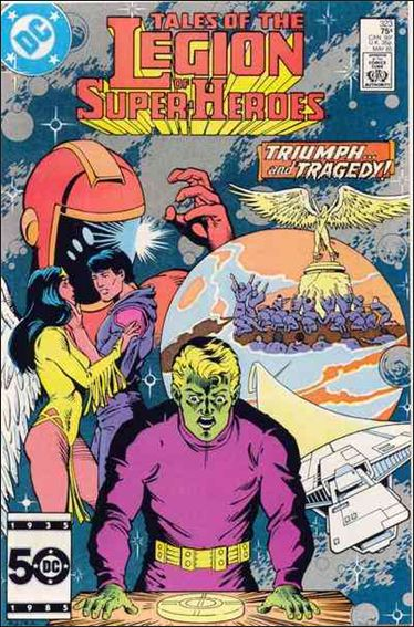 Tales of the Legion of Super-Heroes 323-A by DC