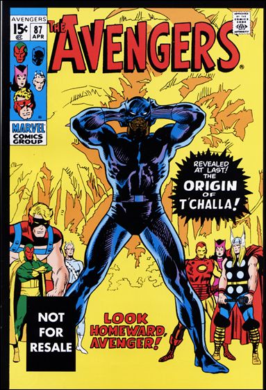 Avengers (1963) 87-C by Marvel