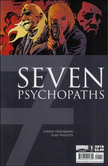 7 Psychopaths 1-A by Boom! Studios