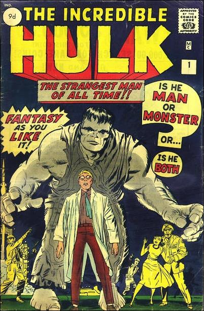 Incredible Hulk (1962) 1-B by Marvel