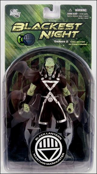 Blackest Night (Series 2) Black Lantern Martian Manhunter by DC Direct