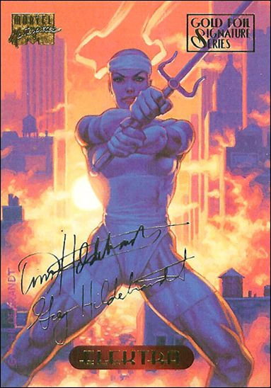 1994 Marvel Masterpieces (Gold-Foil Signature Parallel Base Set) 34-A by Fleer