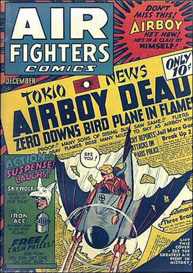 Air Fighters Comics (1941) 3-A by Hillman