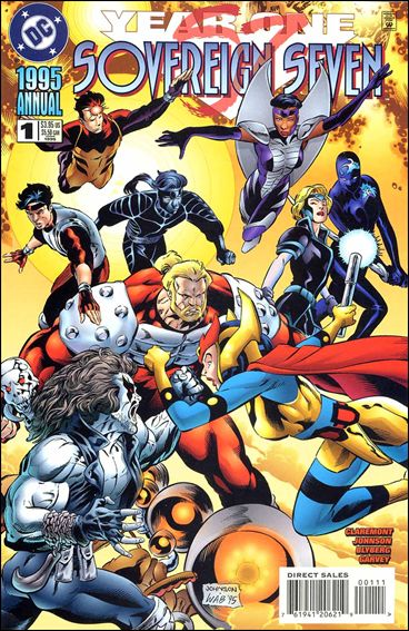 Sovereign Seven Annual 1-A by DC