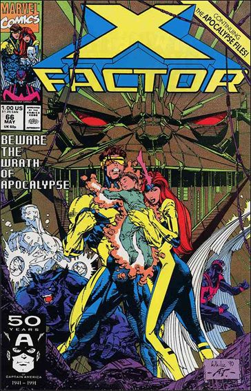X-Factor (1986) 66-A by Marvel