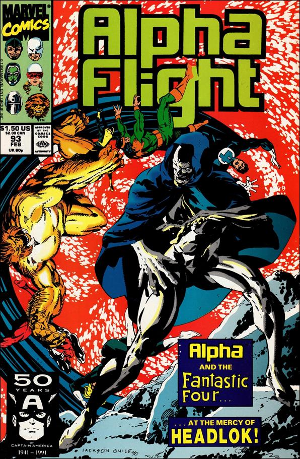 Alpha Flight (1983) 93-A by Marvel