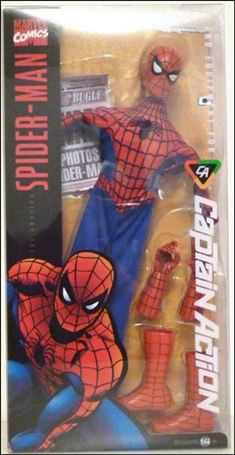 Captain Action (2012) Spider-Man (Basic)