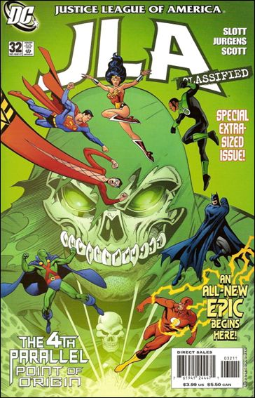 JLA: Classified 32-A by DC