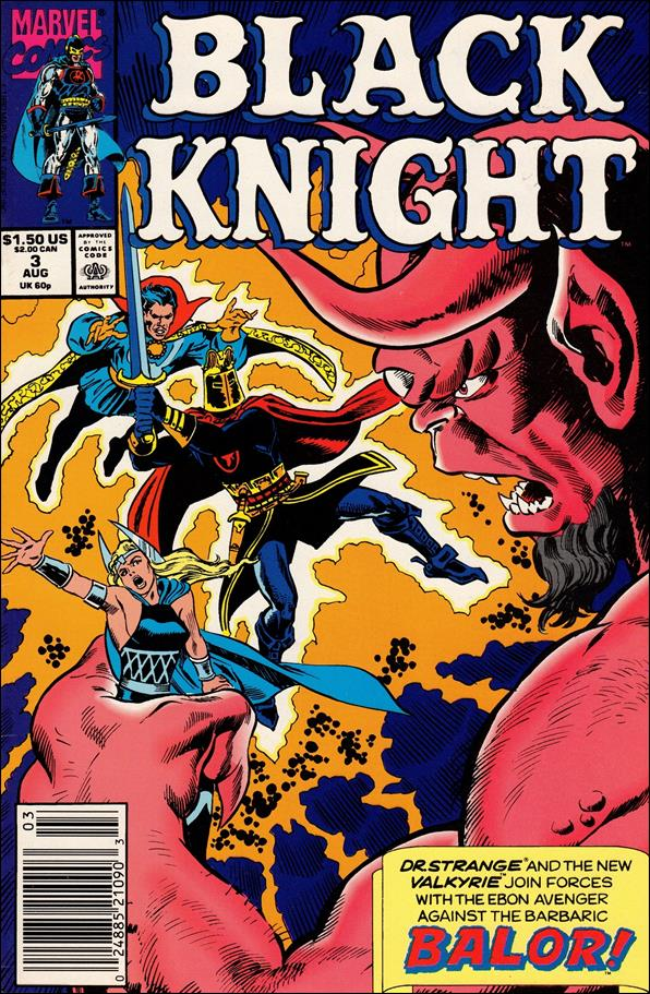 Black Knight (1990) 3-A by Marvel