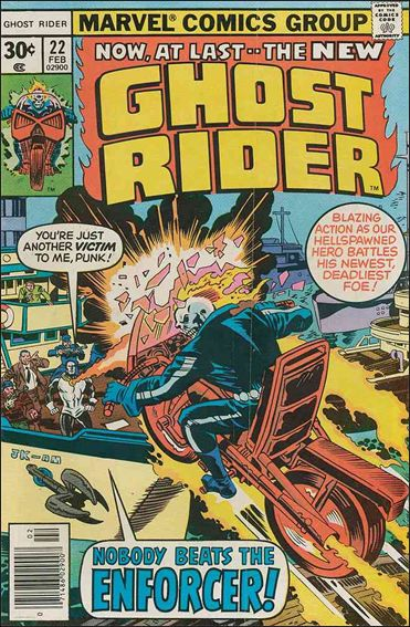 Ghost Rider (1973) 22-A by Marvel
