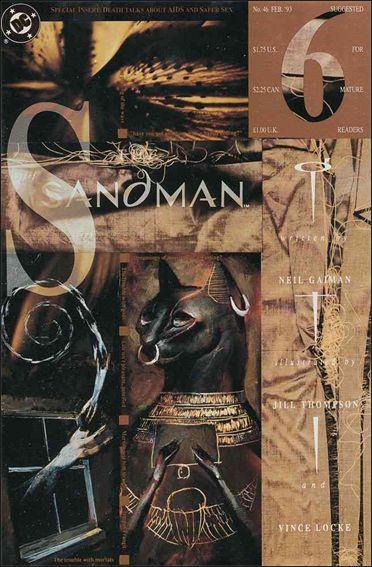 Sandman (1989) 46-A by Vertigo