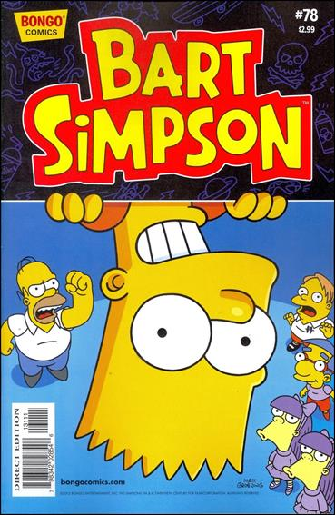 Simpsons Comics Presents Bart Simpson 78-A by Bongo