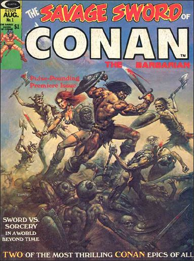 Savage Sword of Conan (1974) 1-A by Marvel