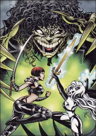 Lady Death and the Women of Chaos!: Love Bites (Base Set) 10-A