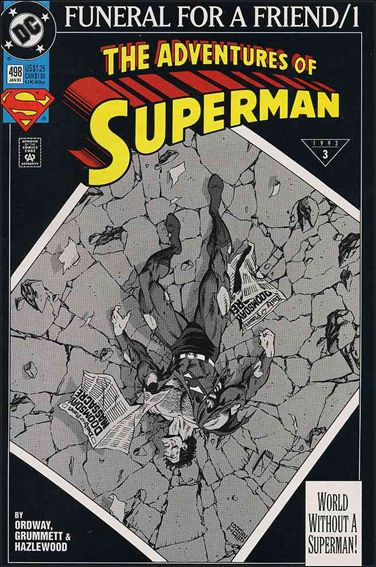 Adventures of Superman (1987) 498-A by DC