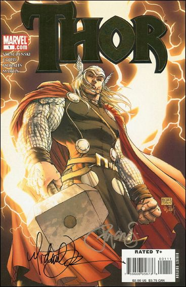 Thor (2007) 1-X-FAKE by Marvel