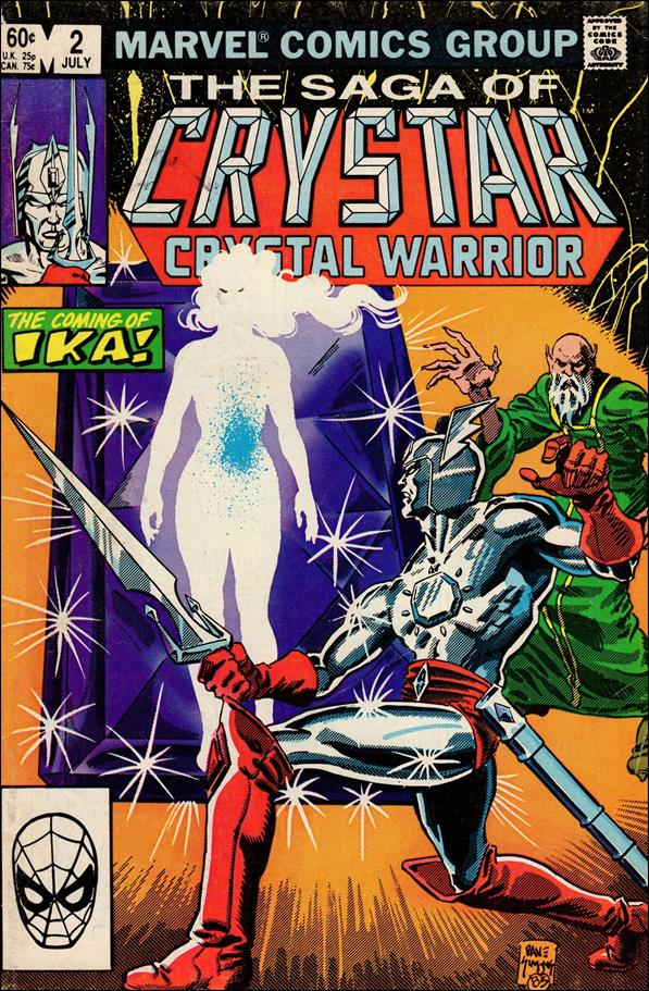 Saga of Crystar Crystal Warrior 2-A by Marvel