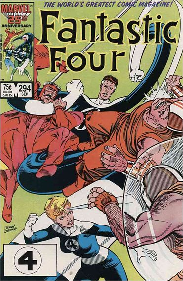 Fantastic Four (1961) 294-A by Marvel
