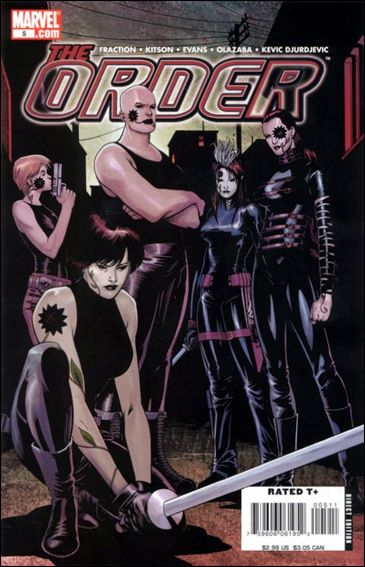 Order (2007) 5-A by Marvel