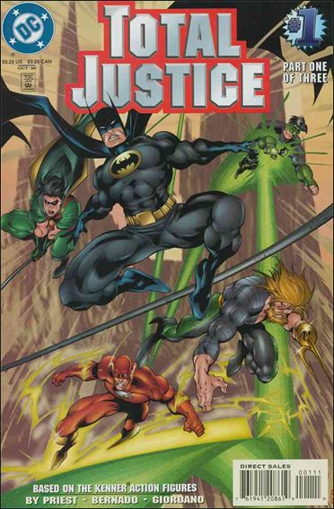 Total Justice 1-A by DC