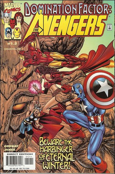 Domination Factor: Avengers 1.2-A by Marvel
