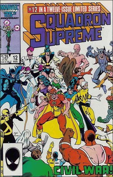 Squadron Supreme (1985) 12-A by Marvel