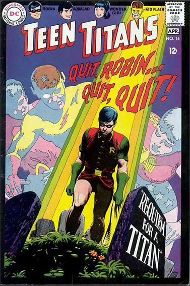Teen Titans (1966) 14-A by DC