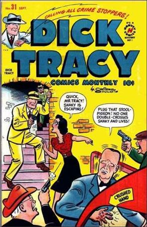 Dick Tracy Comics Monthly 31-A