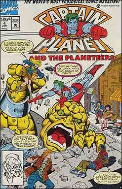 Captain Planet and the Planeteers 4-A by Marvel