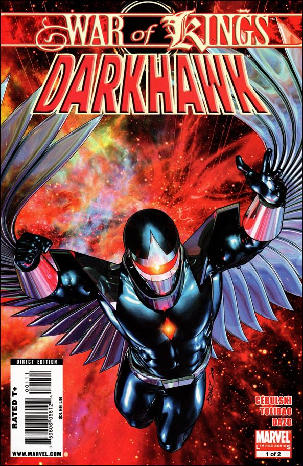 War of Kings: Darkhawk 1-A by Marvel