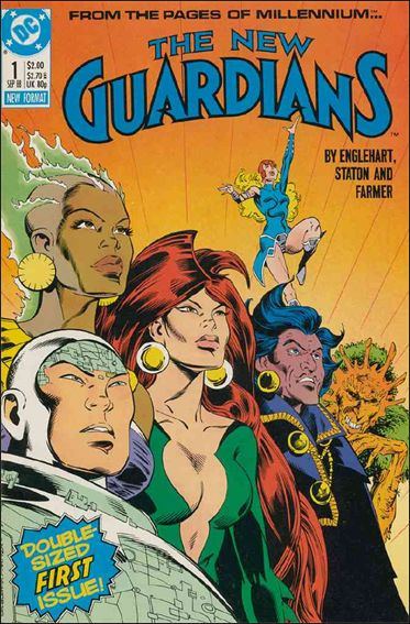 New Guardians 1-A by DC