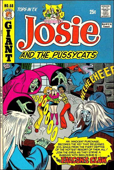 Josie & the Pussycats (1969) 68-A by Archie